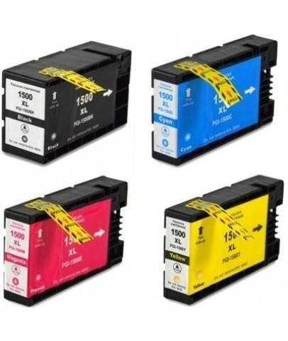 Canon Maxify MB2050 için Muadil Kartuş Seti 4 renk PGI-1500XL