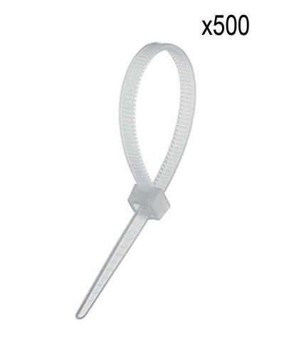 Ekoset Kablo bağı Plastik Cırt Kelepçe 3,6x200mm Beyaz 500 Adet
