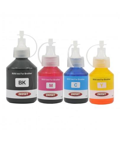 DCP-T300, DCP-T310, DCP-T500W, DCP-T510W uyumlu 4 renk mürekkep