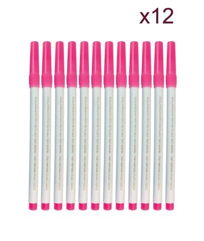 Ekoset Hava ile uçan kalem Tekstil Kalemi 12 li Paket