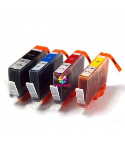 HP 655 Muadil Kartuş 4 renk Deskjet 3525/4615/4625/5525/6520/6525