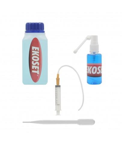 Ekoset Nozzle Cleaner Tıkalı Kartuş Kafa açıcı solüsyon seti Tüm Yazıcılar için