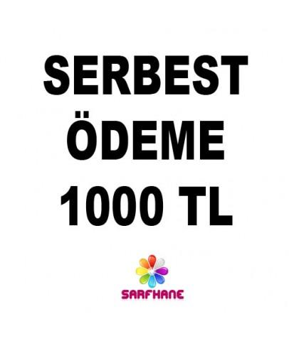 Serbest ödeme 1000 TL