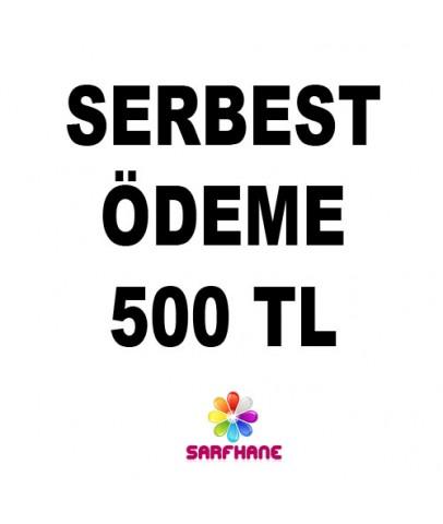 Serbest ödeme 500 TL